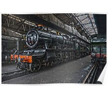 Steam Locomotive HDR VII Poster