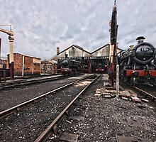 Didcot Railway Yard HDR by Simon Lawrence