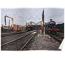 Didcot Railway Yard HDR Poster