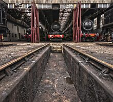 Didcot Railway Yard HDR II by Simon Lawrence