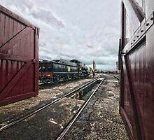 Didcot Railway Yard HDR III by Simon Lawrence