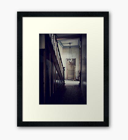 Empty Hallway Framed Print