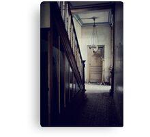Empty Hallway Canvas Print