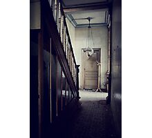 Empty Hallway Photographic Print