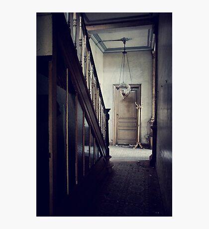 Empty Hallway Photographic Print