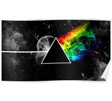 Pink Floyd Neon Rainbow Poster
