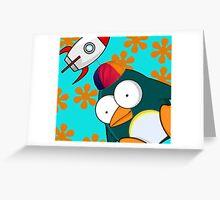 Penguin Dantro Greeting Card