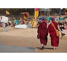 Mooloolaba Monks, Queensland Photographic Print