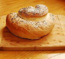White Swirl Bread Loaf 2 by jojobob