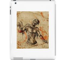 Diagram Zombie iPad Case/Skin