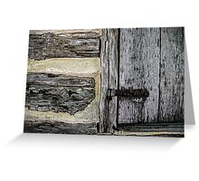 From These Primitive Beginnings A Mighty City Grew Greeting Card