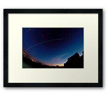 ISS Framed Print