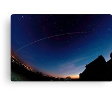 ISS Canvas Print