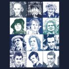 Dr Who - Twelve Regenerations (50th Anniversary) by Marjuned
