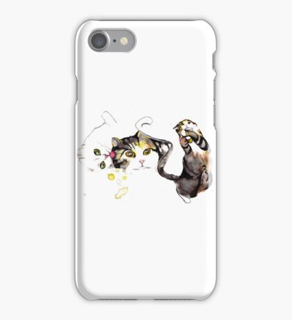 Playful Cats iPhone Case/Skin