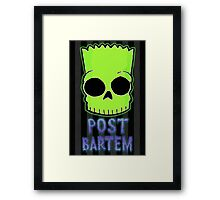Post Bartem Framed Print