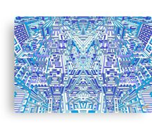 Deep Blue Three Canvas Print