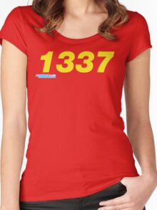 1337 Women's Fitted Scoop T-Shirt