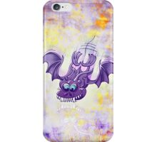 Bat Sinking its Fangs into Fresh Flesh iPhone Case/Skin