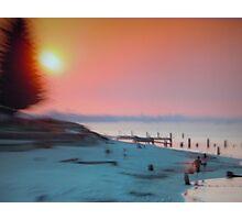 Busselton, Summer sunset Photographic Print