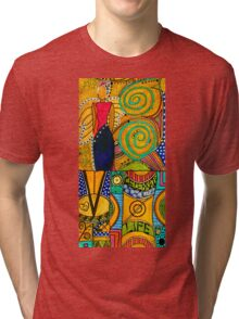 The Angel SPARKLE Celebrates LIFE Tri-blend T-Shirt