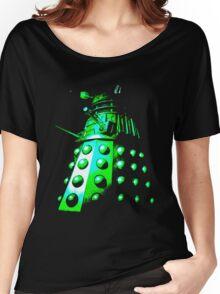 Dalek Gamma – Green Women's Relaxed Fit T-Shirt