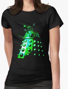 Dalek Gamma – Green Womens Fitted T-Shirt