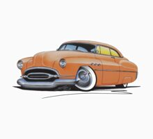Buick Super Riviera (1952) Orange by Richard Yeomans