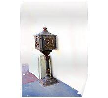 Post Box. Poster