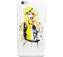 Allison Harvard - Fashion Illustration iPhone Case/Skin