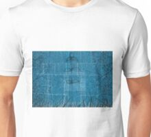 Little blue flower, field, tree, night Unisex T-Shirt