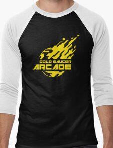 GOLD SAUCER ARCADE Men's Baseball ¾ T-Shirt