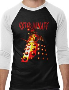 Dalek Gamma – Exterminate! Men's Baseball ¾ T-Shirt