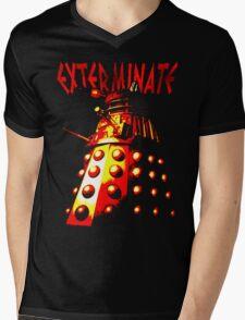 Dalek Gamma – Exterminate! Mens V-Neck T-Shirt