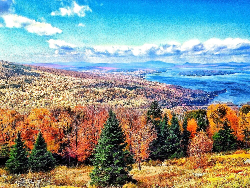 Height of the Land, Maine by fauselr