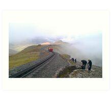 Snowdon Railway Art Print