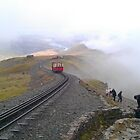 Snowdon Railway by Desaster