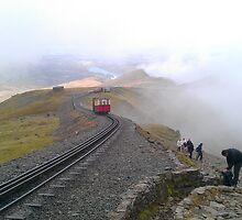 Snowdon Railway by Desaster
