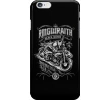 Black Rider Motorcycle Club iPhone Case/Skin