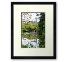 Reflection of the Wallace Monument  Framed Print