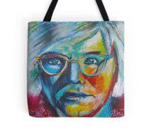 The Genius of Andy Warhol Tote Bag