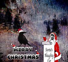 Santa's Naughty List by CardZone By Ian Jeffrey