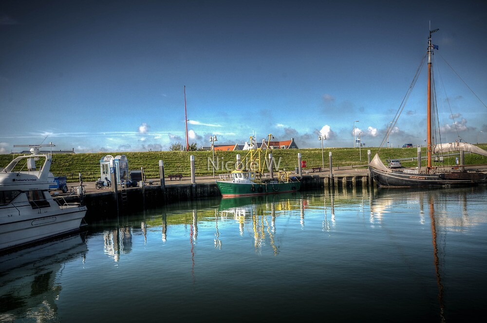 Oudenschild Texel by Nicole W.
