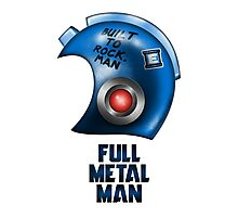 Full Metal Man Photographic Print