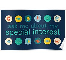 """Special Interest Series """"Marine"""" Poster"""