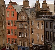 Victoria Street, Edinburgh by Pat Millar