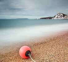 Worbarrow Bay Buoy by Chris Frost Photography