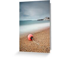 Worbarrow Bay Buoy Greeting Card