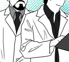 Science Boyfriends - Minimalistic Sticker