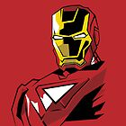 Iron Man Edgy Style Vector Design by Aaron Pacey